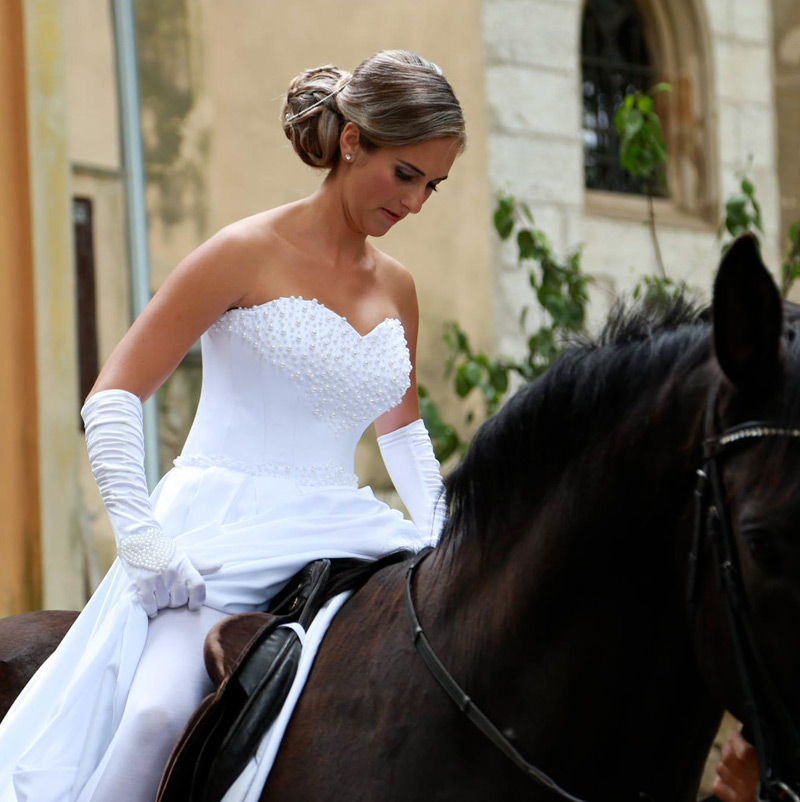 Svadobné šaty Gina od značky Annette Moretti
