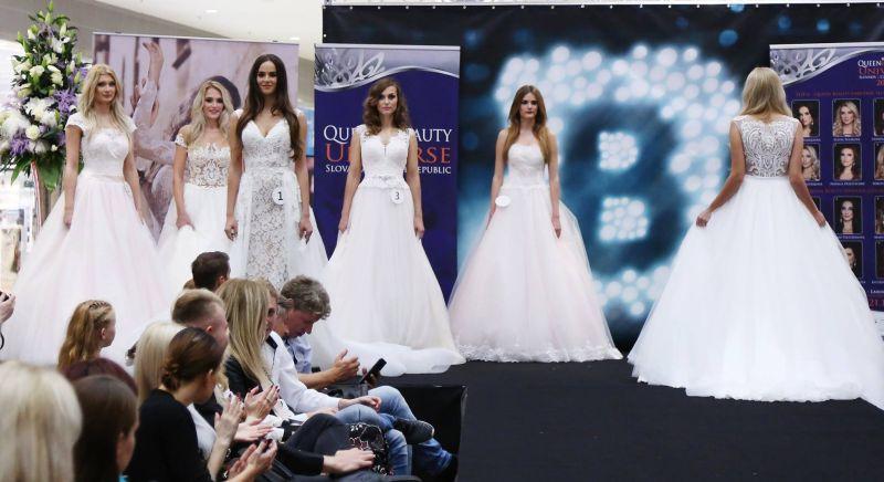 Nádherné svadobné šaty