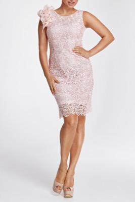 ružové šaty pre svadobnú mamu
