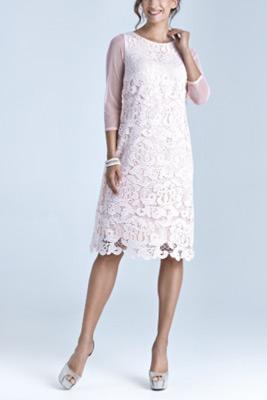 šaty pre svadobnú mamu Ačkový strih