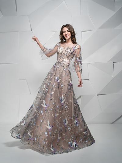 luxusné šaty pre svadobnú mamu