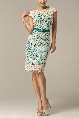 šaty pre svadobnú mamu z nádhernej čipky