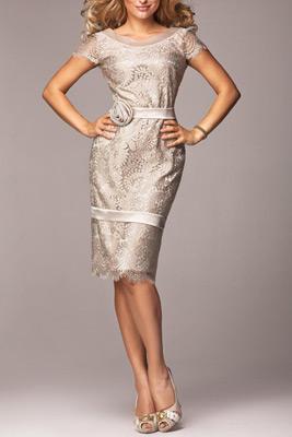 čipkované šaty pre svadobnú mamu