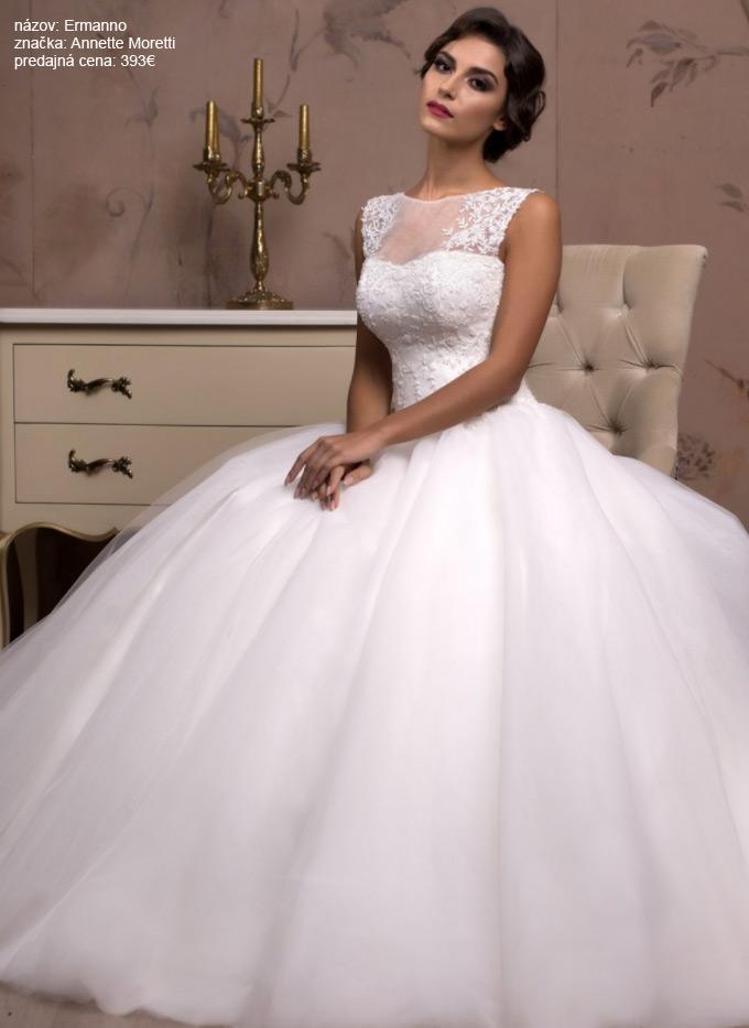 Najkrajšie romantické svadobné šaty