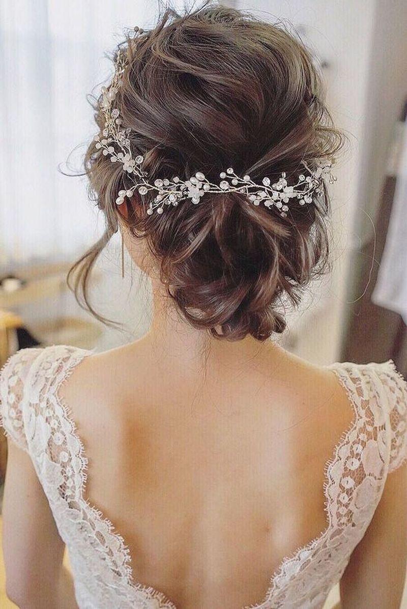 7435dceea602 Najnovšie trendy svadobných účesov pre rok 2018 - Svadobný a ...