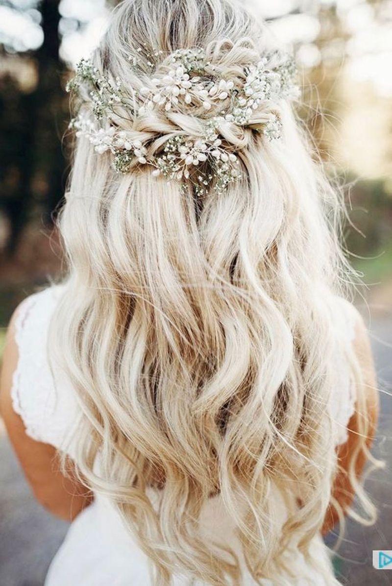 Beautiful Wedding Hairstyle For Long Hair Perfect For Any: Najnovšie Trendy Svadobných účesov Pre Rok 2018