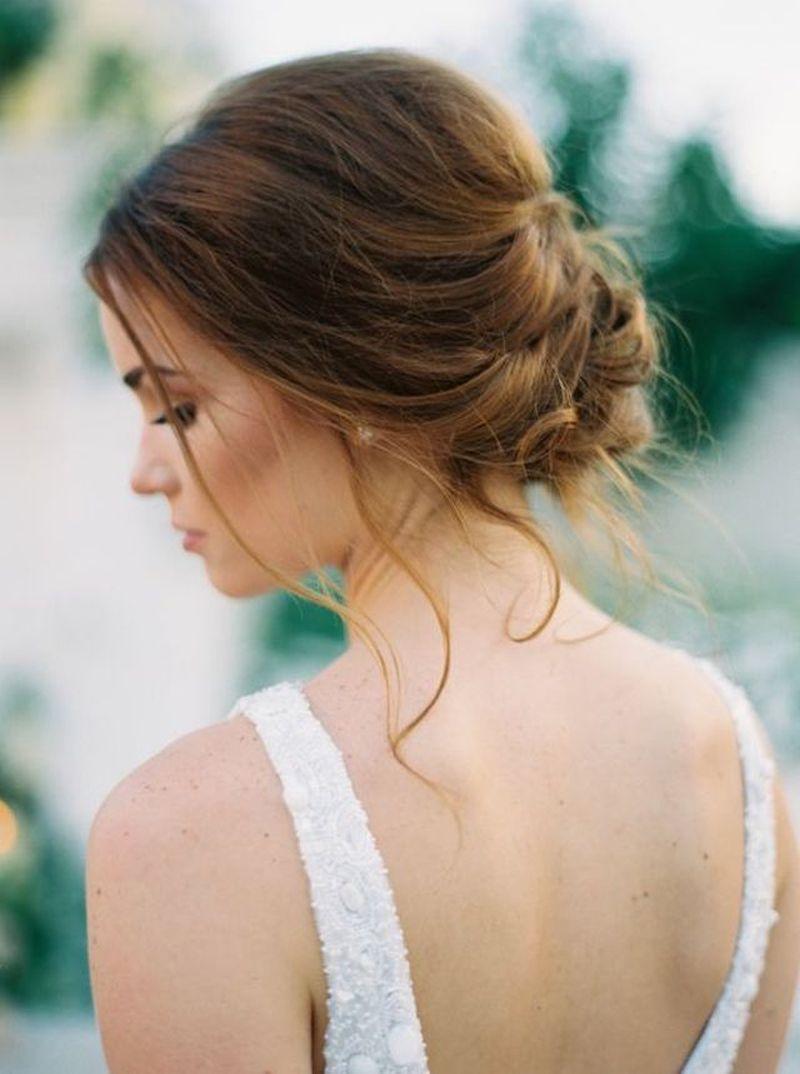 Najkrajší svadobný účes 2018