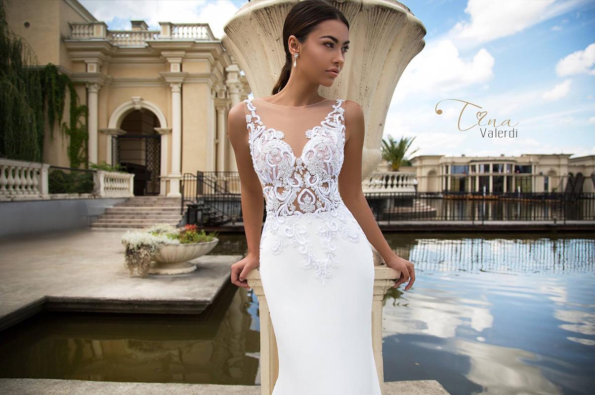 TINA VALERDI - španielska značka svadobných šiat