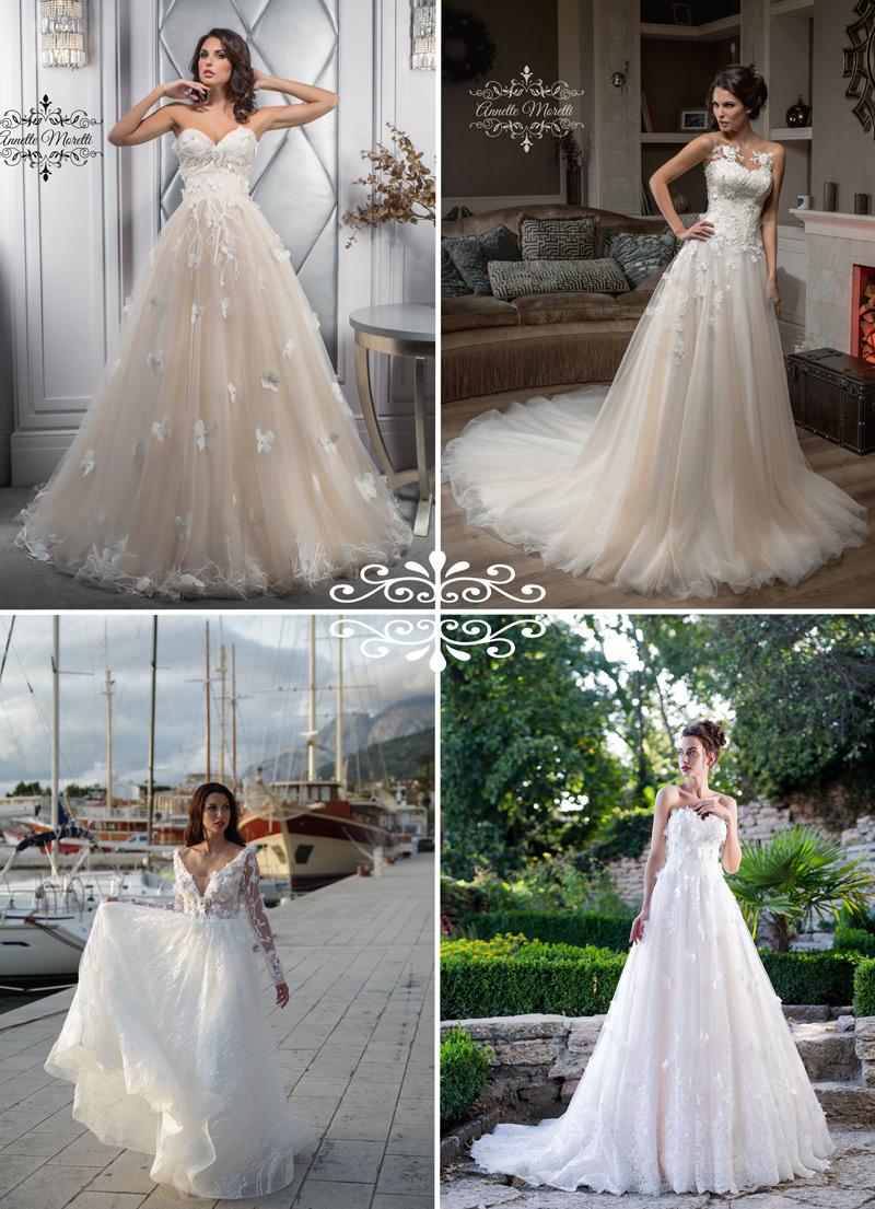 3D zdobenie na svadobných šatách - trendy 2018