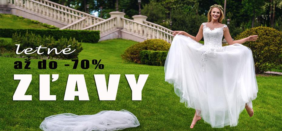 Zľavy na svadobné šaty