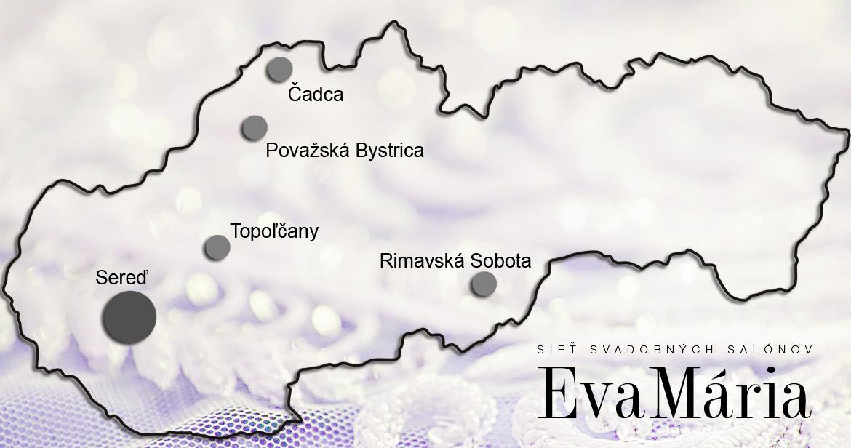 Dovoľujeme si Vám predstaviť najväčšiu sieť svadobných salónov na Slovensku