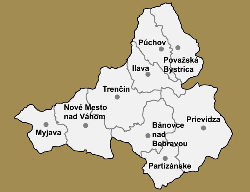 Svadobné priestory -  Trenčiansky kraj