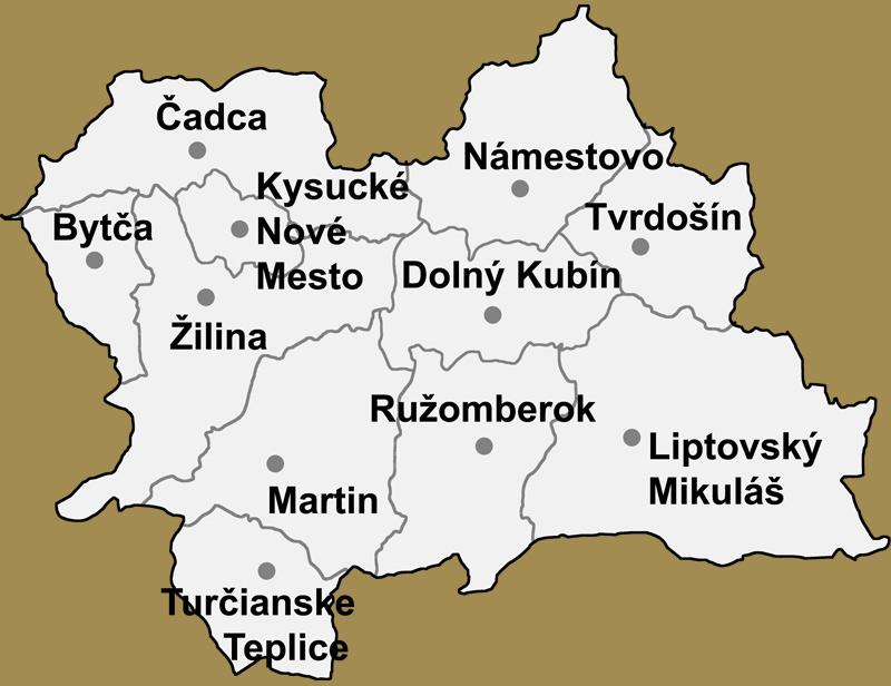 Svadobné priestory -  Žilinský kraj