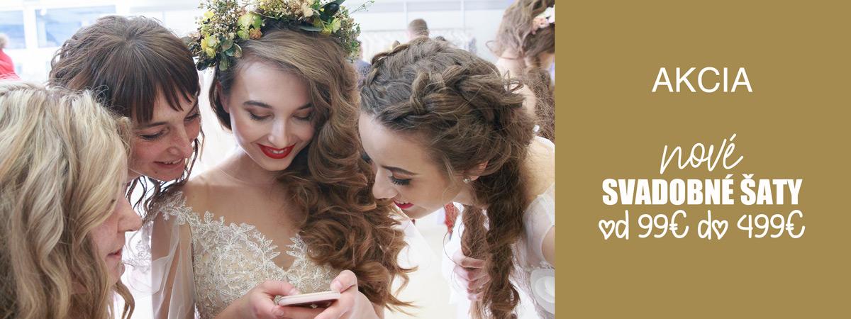 Výpredaj svadobných šiat
