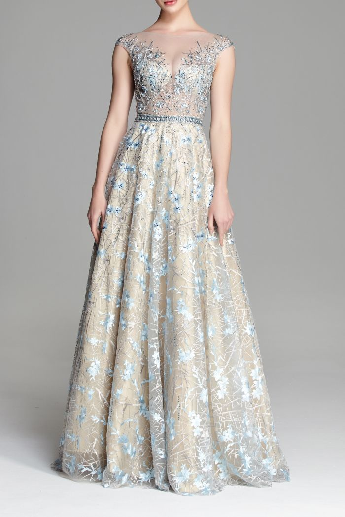 Šaty na stužkovú s čipkovanou sukňou