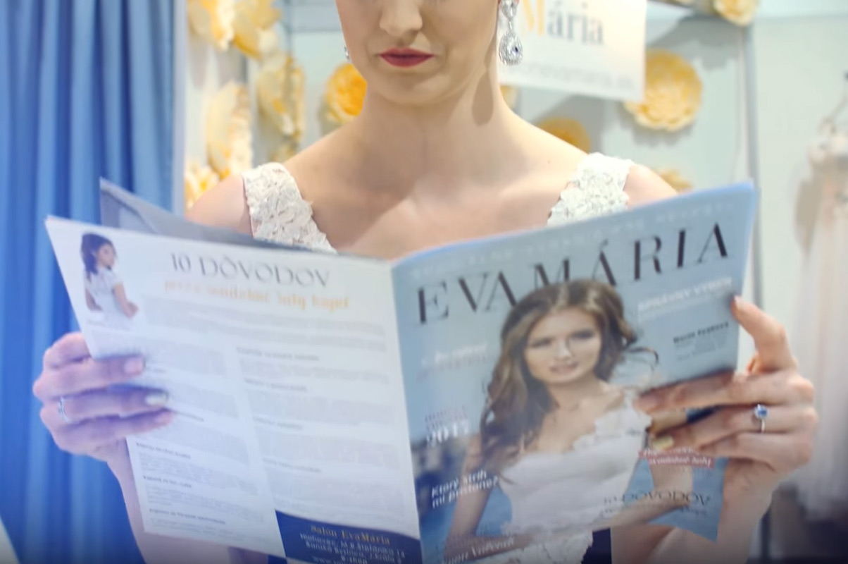 Časopis EvaMária - nielen pre nevesty