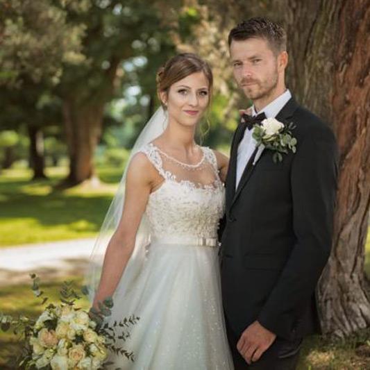 Spokojná Nevesta Dominika zo svadobného salónu EvaMária Sereď