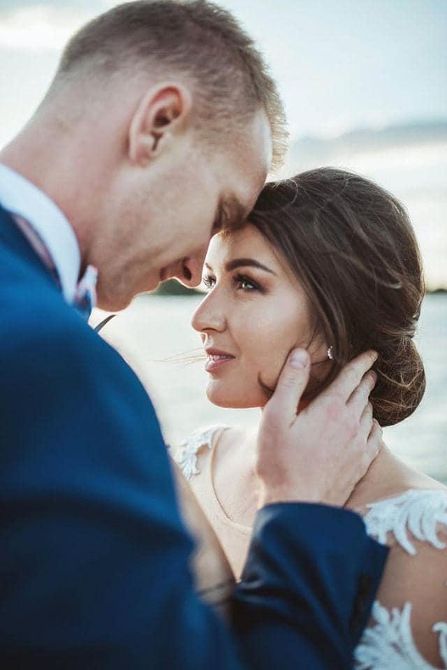 Nádherná nevesta v šatách Rossalino zo svadobného centra EvaMária Sereď