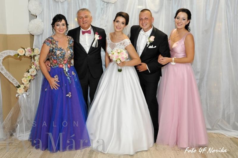 Spokojní zákazníci zo svadobného centra EvaMária Sereď