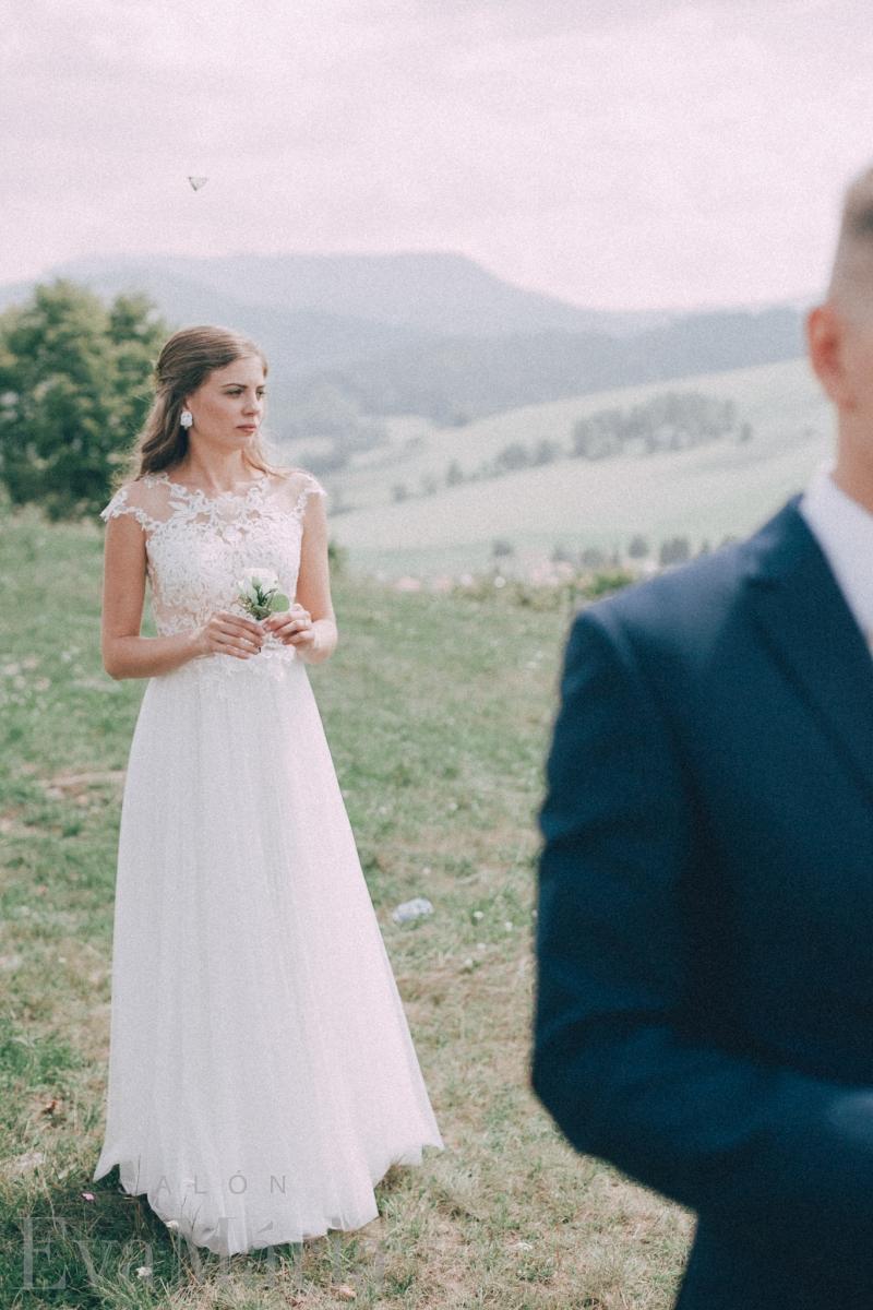Nádherná nevesta a ženích zo svadobného centra EvaMária Sereď