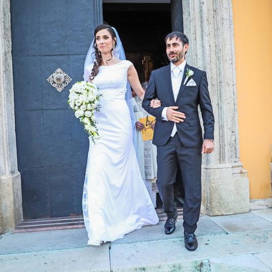 Spokojná Nevesta Kristínka zo svadobného salónu EvaMária Sereď