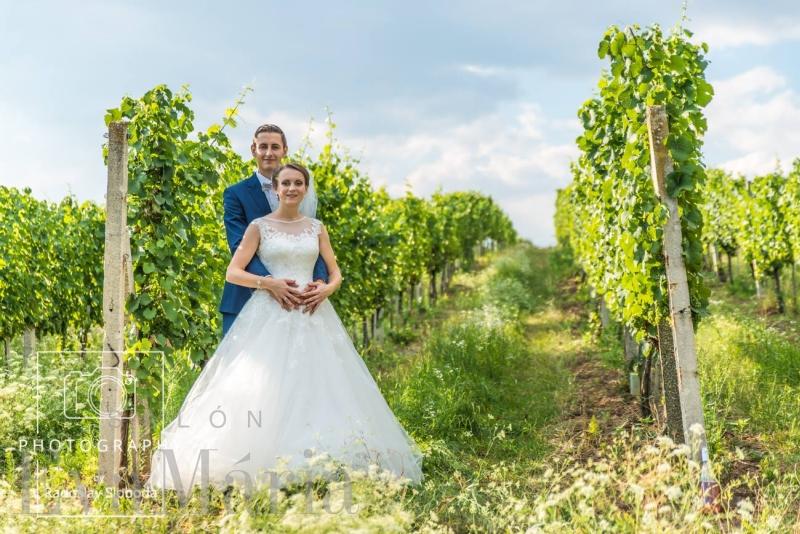 Nádherná nevesta Marcelka so ženíchom zo svadobného centra EvaMária Sereď