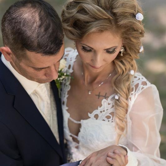 Spokojná Nevesta Mia zo svadobného salónu EvaMária Sereď
