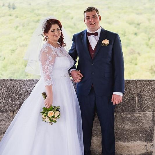 Spokojná Nevesta so ženíchom zo salónu EvaMária Sereď