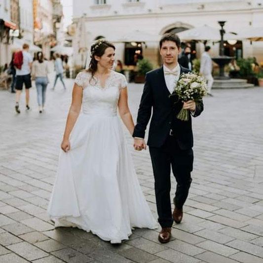 Spokojná Nevesta zo svadobného salónu EvaMária Sereď