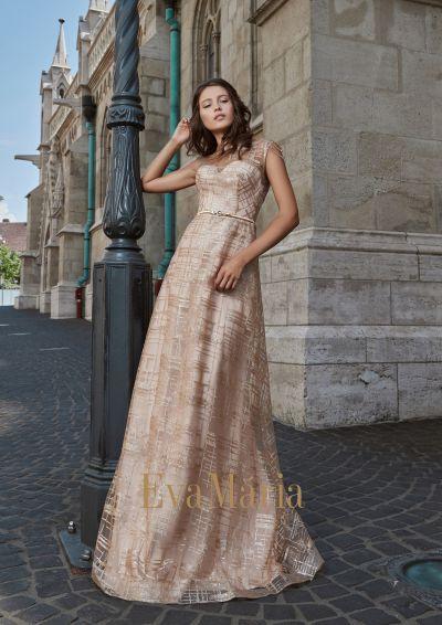 Zlté luxusné plesové šaty z exkluzívneho materiálu