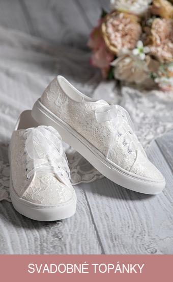 svadobné topánky, svadobné tenisky