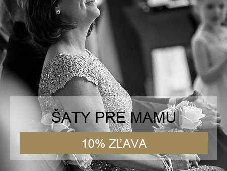 10% zľava na šaty pre svadobnú mamu pri kúpe svadobných šiat