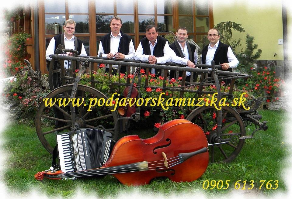 Ľudová hudba Podjavorská muzika zo Zvolenskej Slatiny